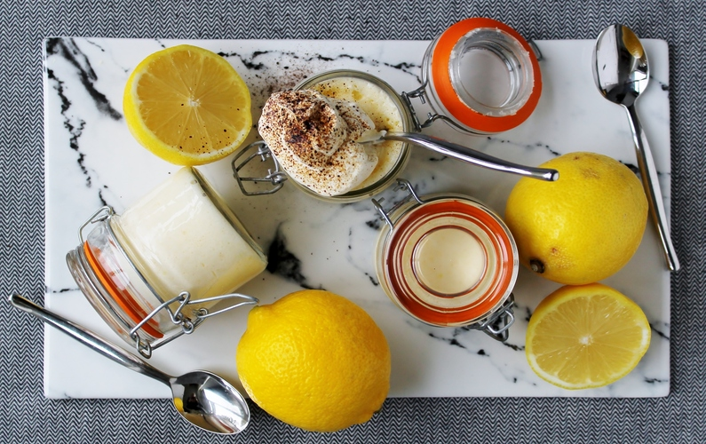 Citronfromage med lakrids