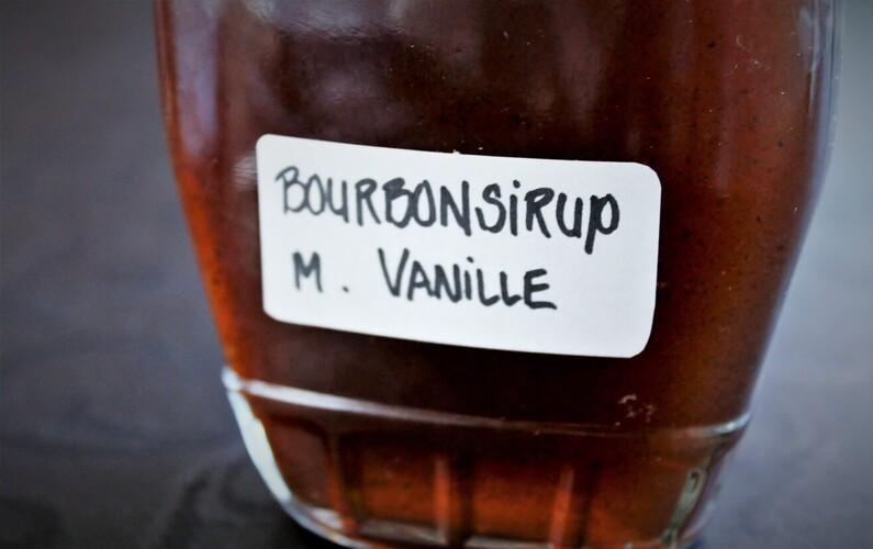 Pandekager med bourbonsirup og bacon