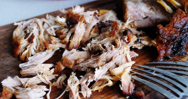 Pulled pork med coleslaw